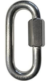Marine Grade Stainless Steel 316 Quick Link 11//16 18mm