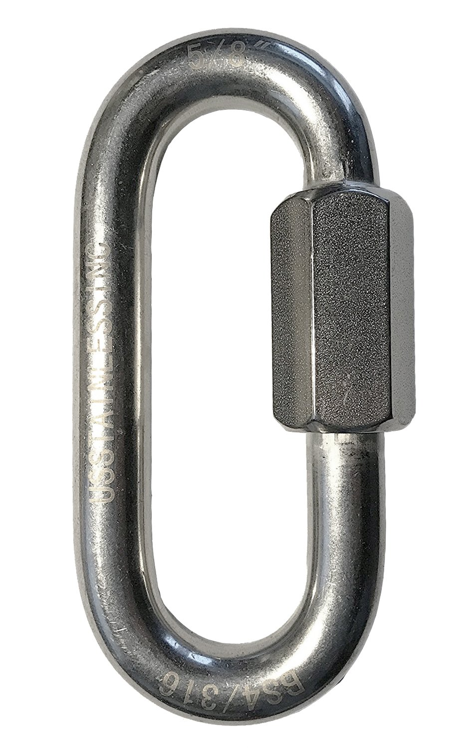 Stainless Steel 316 Quick Link 5/8'' (16mm) Marine Grade
