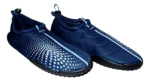 0e1690579656 Fresko Mens Big Sizes 14-15 Aqua Sock Wave Water Shoes - Waterproof Slip-