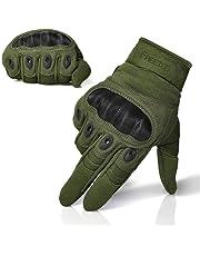 Sport Handschuhe FREETOO Motorrad Handschuhe Herren Vollfinger Handschuhe mit gepolstertem Rückenseite geeignet für Motorrad Fahrrad und andere Outdoor Aktivitäten