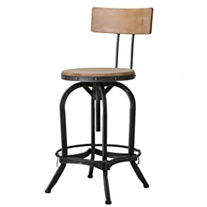 Christopher Knight Home 296928 CK Home Indoor Barstools, Brown