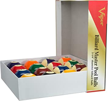 Viper Billiard Master Pool Balls-missing The 5 Ball for sale online
