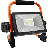 LED Work Light 50W 5500LM Portable Outdoor Flood Light 6000K IP66 Waterproof Camping Security Lights for Outdoor…