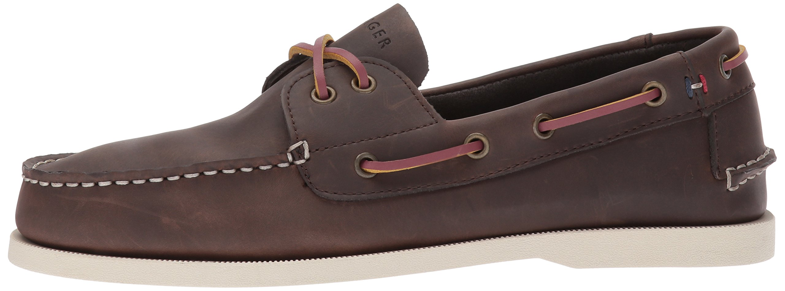 Tommy Hilfiger Men's Bowman Boat shoe,Coffee Bean,8.5 M US by Tommy Hilfiger (Image #5)