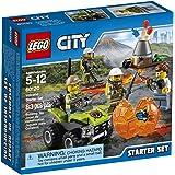 LEGO City Volcano Explorers 60120 Volcano Starter Set Building Kit (83 Piece) by LEGO