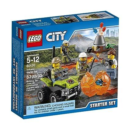 Amazon Lego City Volcano Explorers 60120 Volcano Starter Set