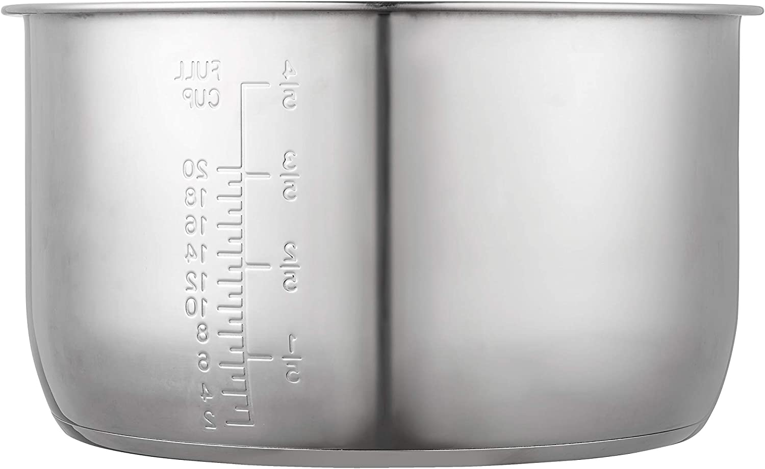 """GJS Gourmet Stainless Steel Inner Pot Compatible with 10 Quart Harvest Cookware Pressure Pro Cooker Model YBW100P (Stainless Steel, 10 Quart)"". This pot is not created or sold by Harvest Cookware."