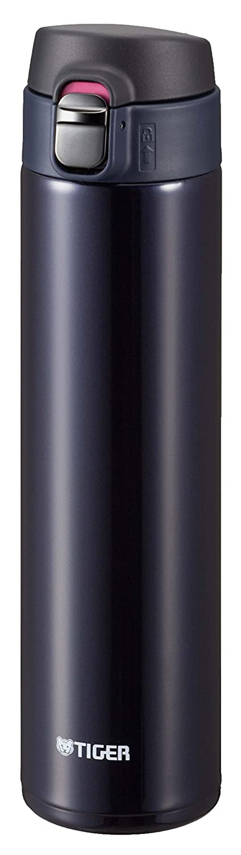 TIGER Stainless Steel Mini bottle Saharamagu lightweight dream gravity Blue Black 0.6L MMJ-A060-KA (japan import)