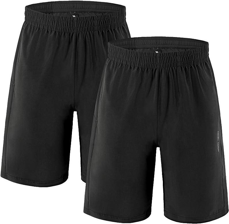 CAMEL CROWN Pantalones Cortos de Deporte Hombre Secado Rápido ...