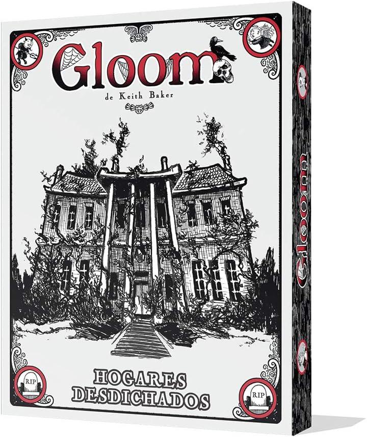 Edge Entertainment - Juego de cartas Gloom: Hogares Desdichados ...