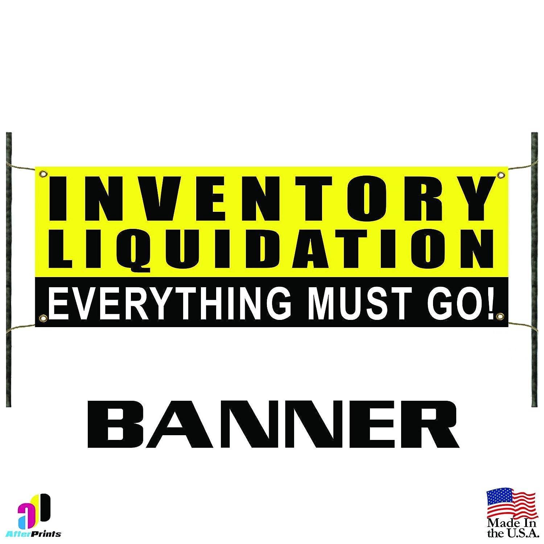 Inventory Pancarta de promoción de liquidación, texto en ...