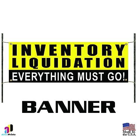 Amazon.com: Inventario liquidación Promoción Banner Sign ...