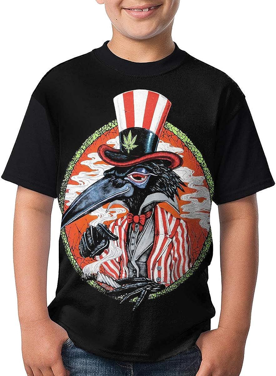 JustinLSullivan The Black Crowes T Shirt Youth Shirt Boys Teenager Round Neck Short Sleeve Tee