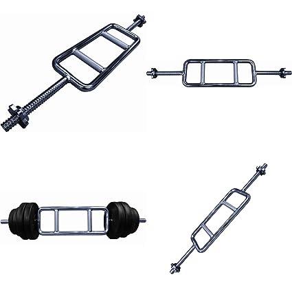 Acero sólido Bodyrip 2,54 cm estándar Biceps Triceps pesas martillo Press Bar