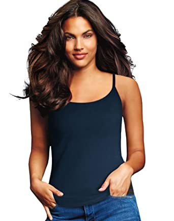 ae351dfa29a47 Maidenform 2- Pack Cotton Stretch Camisole at Amazon Women s Clothing store