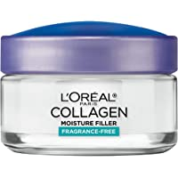 L'Oreal Paris Collagen Moisture Filler Daily Moisturizer Visibly smooth skin wrinkles Restore Skin's cushion (1.7 oz)