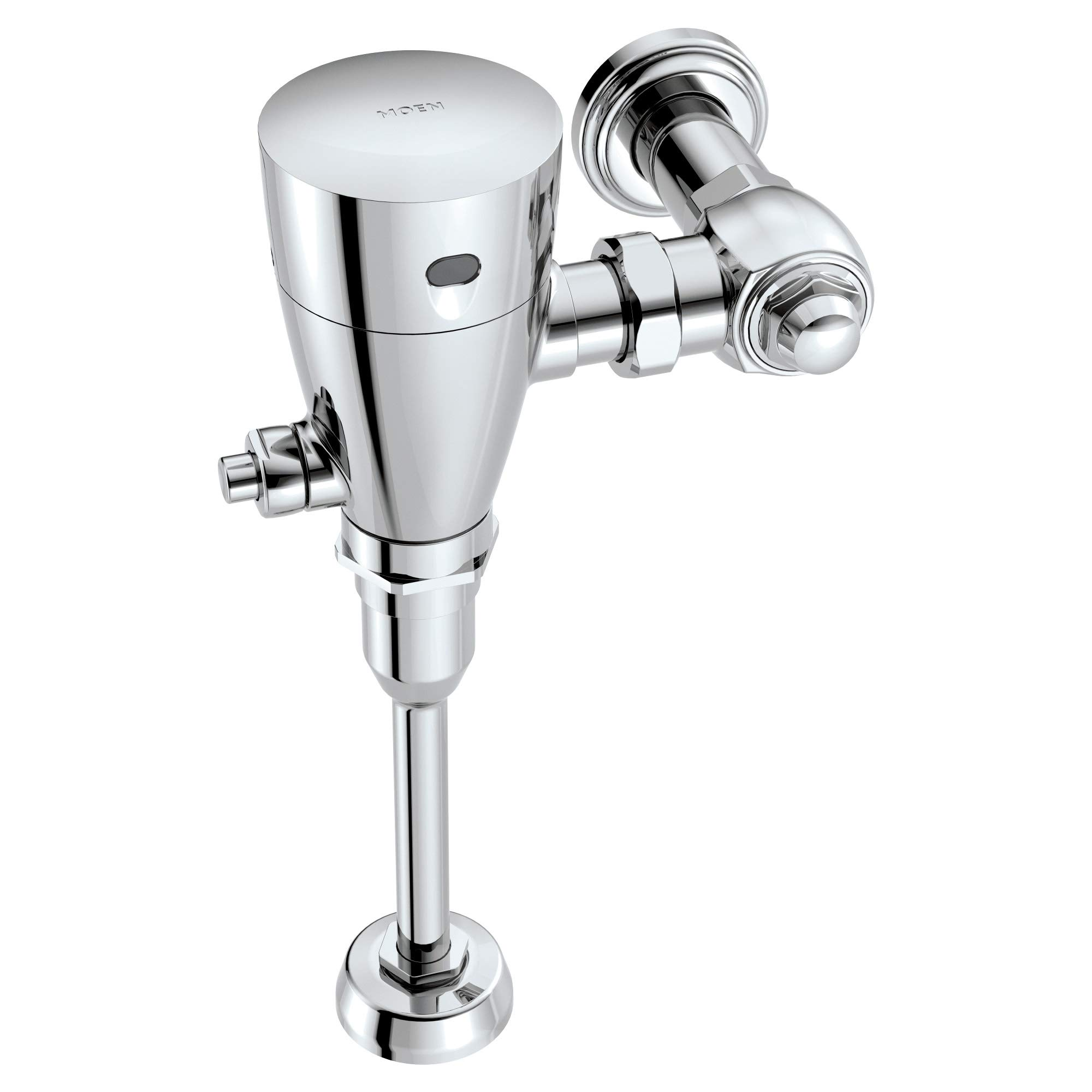 Moen 8315 M-Power 3/4-Inch Urinal Battery Powered Exposed Sensor-Operated Electronic Flush Valve .5 gpf, Chrome