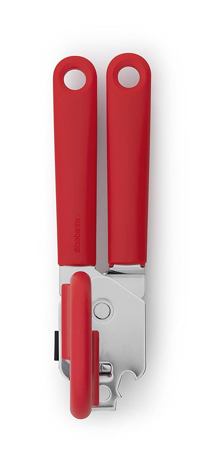 Red Brabantia Can Opener with Plastic Handle