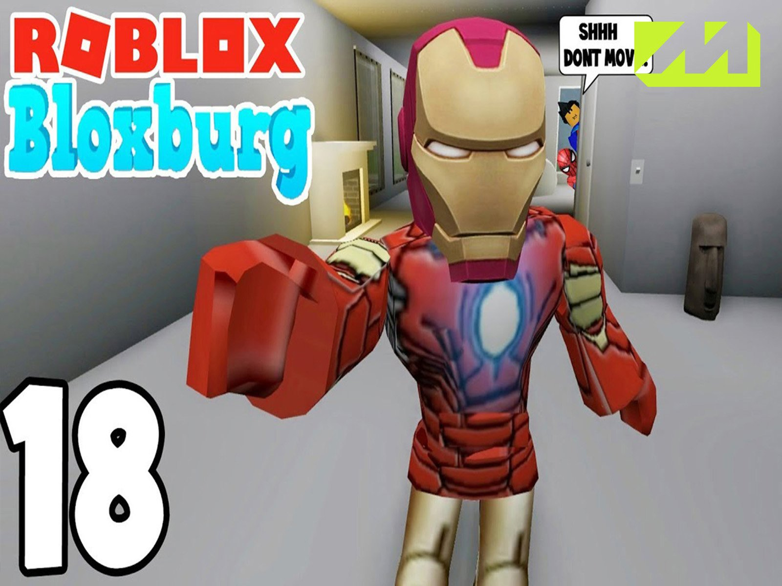 Roblox Iron Man Battle Watch Clip Let S Play Roblox Prime Video
