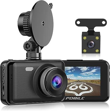Pomile Dashcam 1080p Full Hd Autokamera 3 Zoll Elektronik