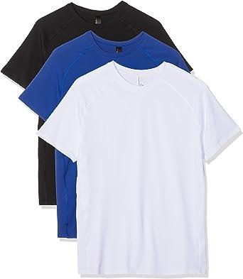 Maglev Essentials Camiseta Hombre, Pack de 3: Amazon.es: Ropa y ...