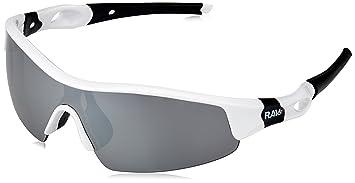 Ravs Bikerbrille Fahrradbrille Radbrille Sonnenbrille (weiß) 1Gwud