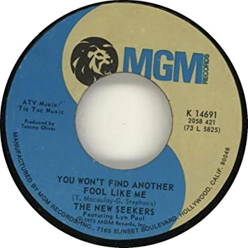 The New Seekers - Songs For You And Me / You Won't Find Another Fool