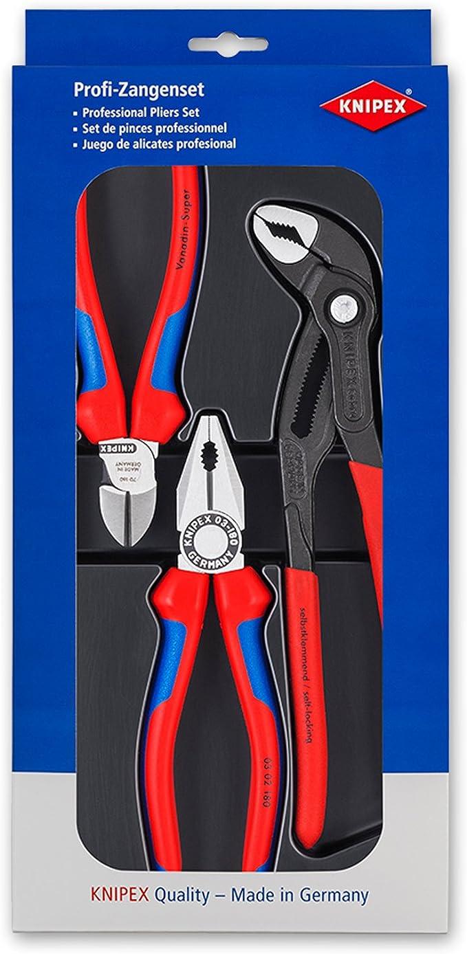 KNIPEX 00 20 09 V01 Juego Bestseller: Amazon.es: Bricolaje y herramientas