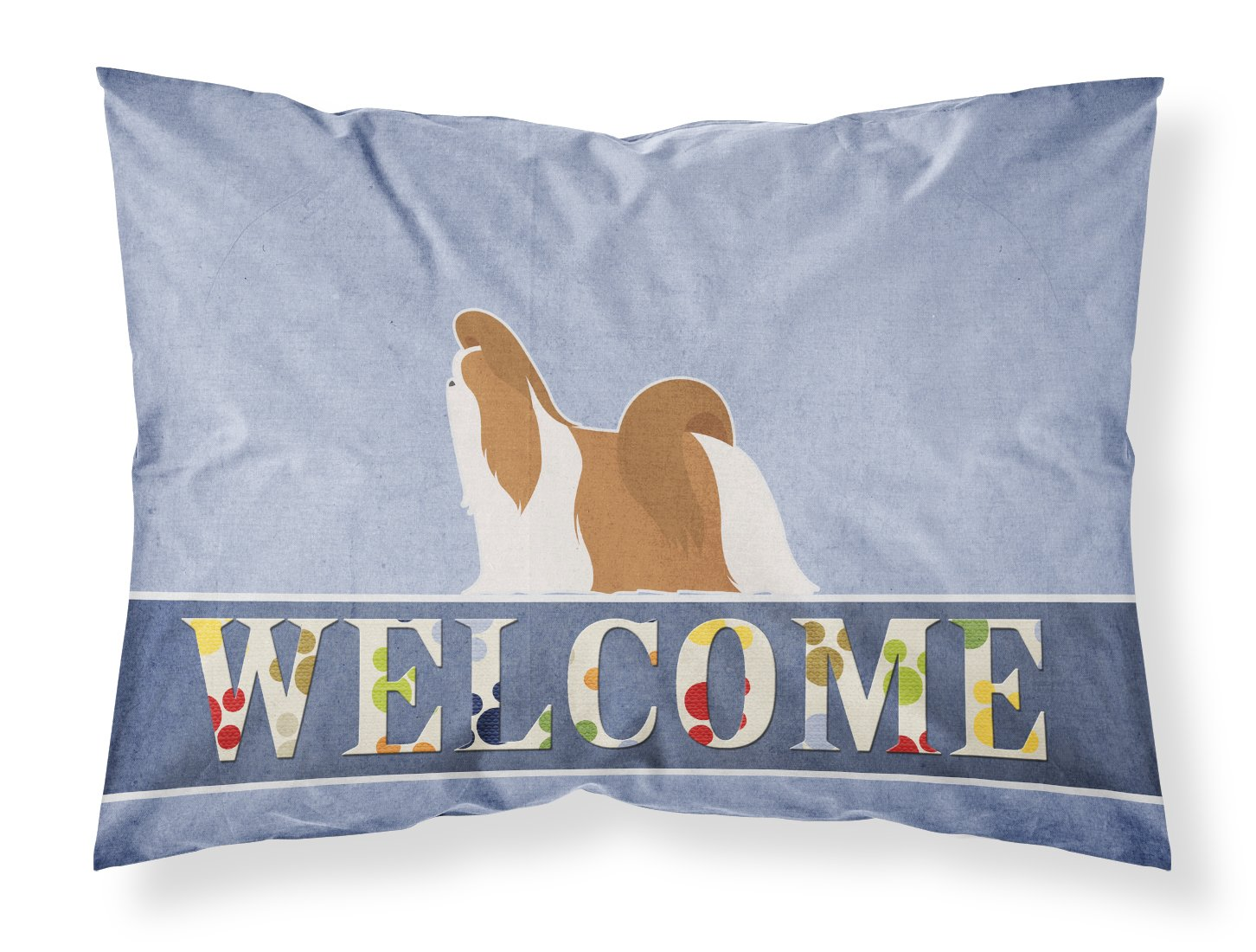 Carolines Treasures Beagle Merry Christmas Tree Fabric Standard Pillowcase BB2928PILLOWCASE,