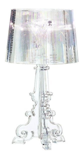 Kartell Bourgie lampe, Polycarbonat, E14, Kristall, 68 x 78 x 68 cm