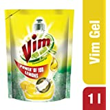 Vim Dishwash Gel - Lemon - 1 L