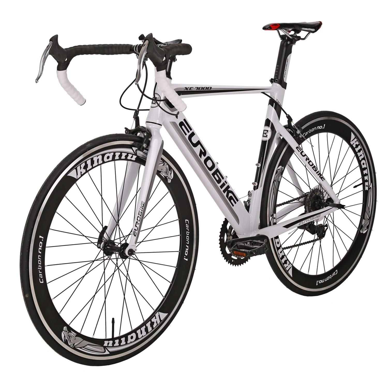 【在庫有】 ロードバイク LZ-7000 700C*28C アルミ合金 軽量 フレーム フレーム 白 変速14速 クランプブレーキ B07PVXJXPJ 自転車 白 B07PVXJXPJ, JONNY BEE:524afdfa --- senas.4x4.lt