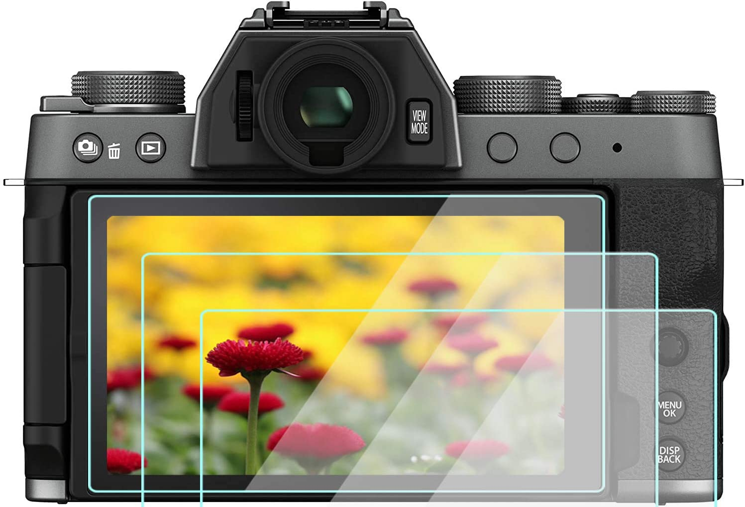 Xt200 Displayschutzfolie Aus Gehärtetem Glas Kompatibel Kamera