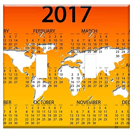 Amazon.com: Switch Plate Double Toggle - Agenda Calendar ...
