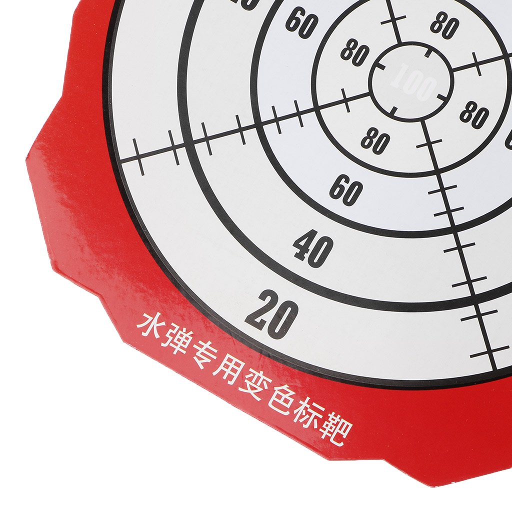Suweqi Shooting Paper Target Color Changing For Kids Water