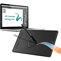 Huion Inspiroy H950P Digital Graphics Drawing Pen Tablet with Battery-Free Pen 8192 Pressure Sensitivity and 8 User-Defined Shortcuts
