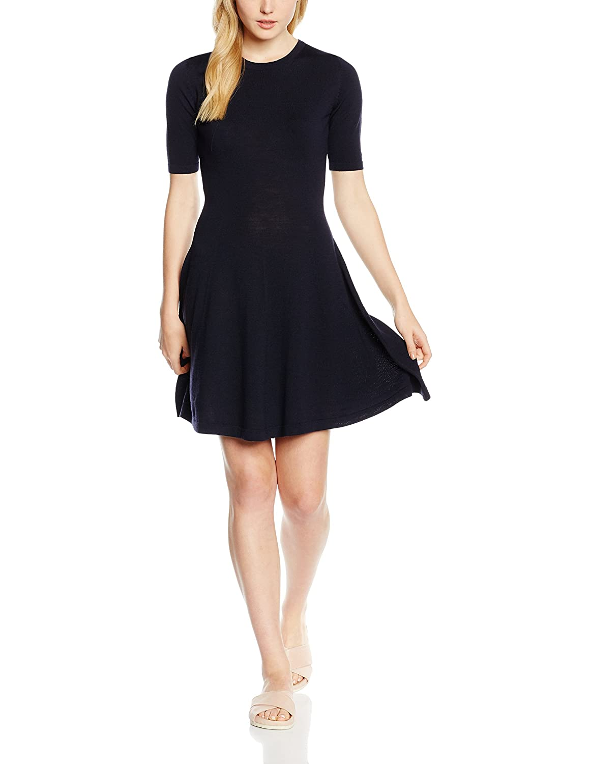 Tommy Hilfiger Damen Kleid Guvera C-Nk Dress