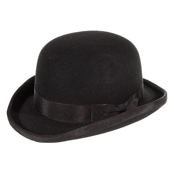 Major Wear Bowler Hat (Black) - Small  Amazon.co.uk  Clothing 82557d61ddb
