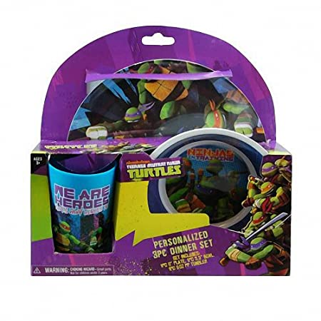 Teenage Mutant Ninja Turtles 3 piezas Vajilla Set de regalo ...