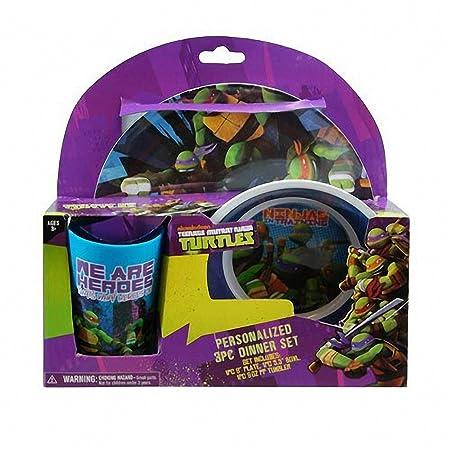 Teenage Mutant Ninja Turtles 3 piezas Vajilla Set de regalo ...