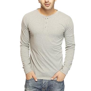 bfaea8175ed GRITSTONES Men s Cotton T-Shirt  Amazon.in  Clothing   Accessories
