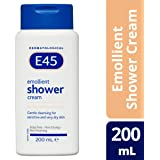 E45 Moisturizing Shower Lotion For Sensitive and Dry Skin, 200ml