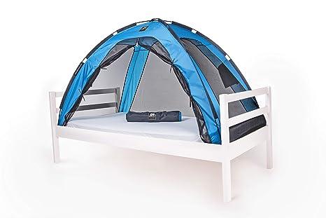 Deryan - Tienda para cama infantil, color azul: Amazon.es: Bebé