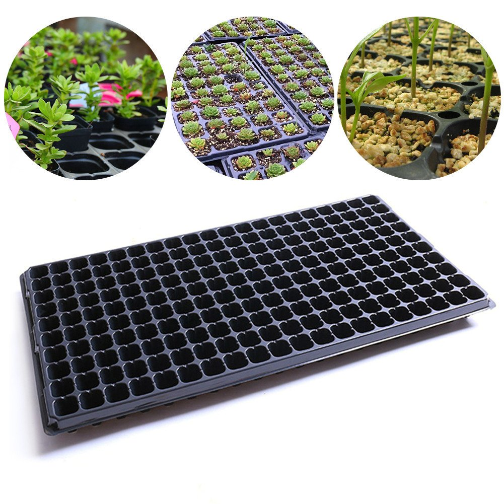 Shootingstar 200 Cups Seedling Seed Cell Sowing Germination Plant Propagation Plant Seed Vegetable Gardening Seed Tray
