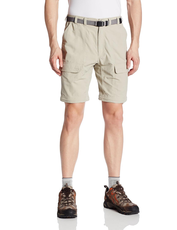 White Sierra Mens Trail 34-Inch Inseam Convertible Pant