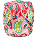 FuzziBunz Adjustable First Year Pocket Diaper - Playful Paisely - M/L/Xl - Snap