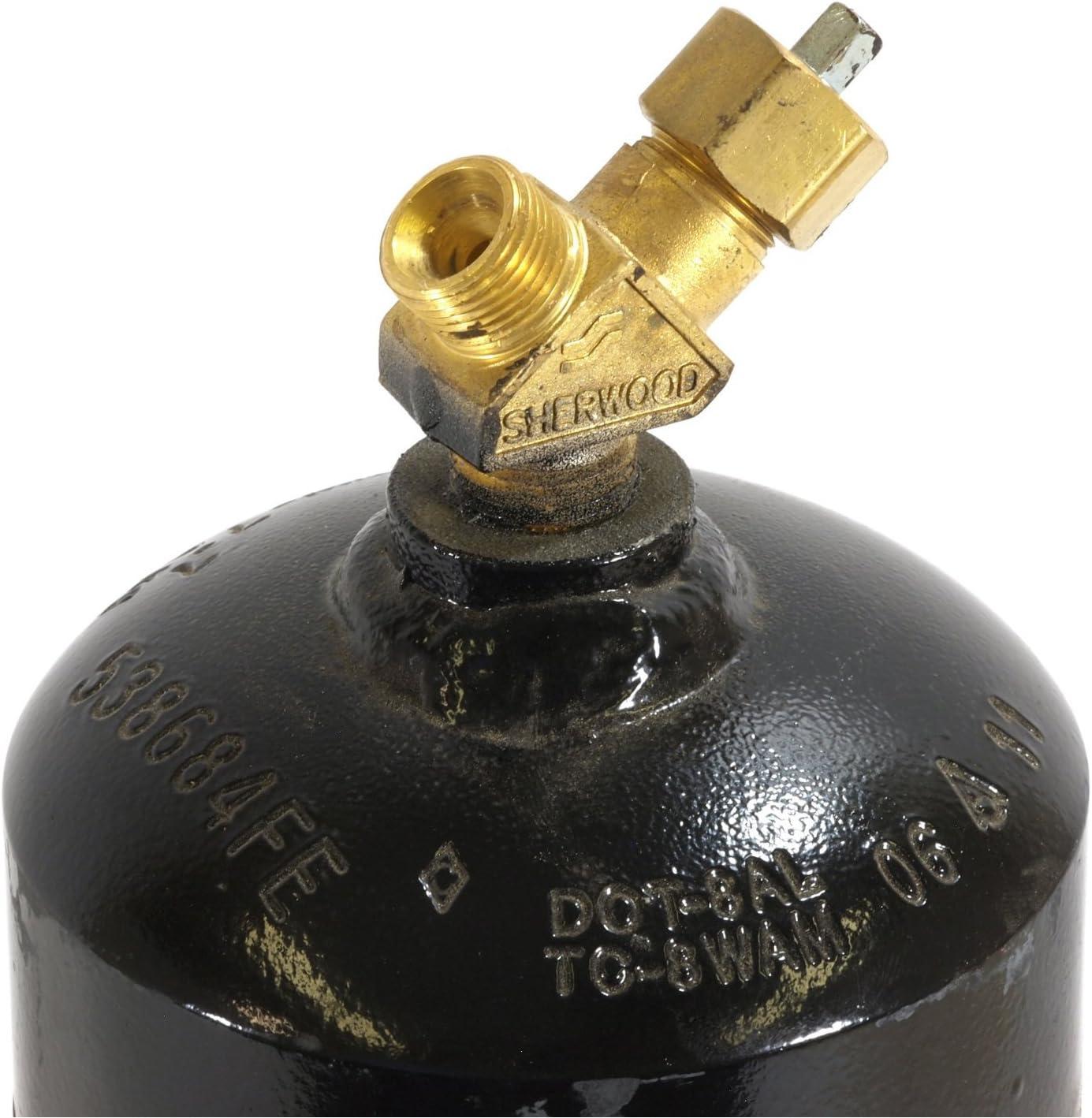 Empty Acetylene Cylinder Forney 86228 Cylinder MC Size 10-CF