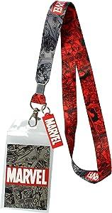 Marvel Lanyard ID Badge Holder, 2