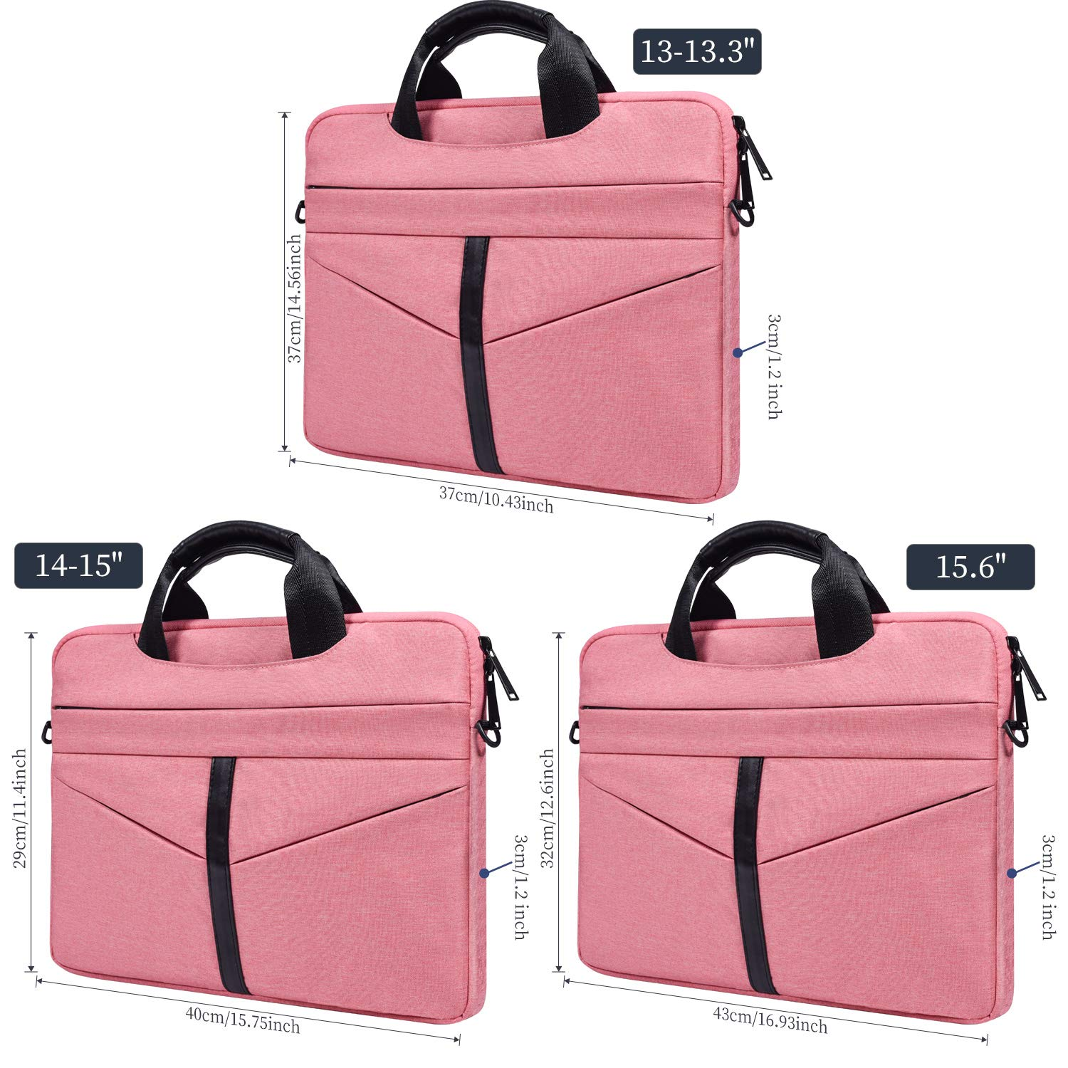 03b89dfc6b31 imComor 14-15 Inch Laptop Shoulder Bag Messenger Handbag Case Sleeve  Briefcase for MacBook Pro 15