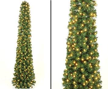Künstliche Tannenbaum.Kunstpflanzen Discount Com Künstliche Tannenbaum Säule Kasan 210cm Mit 288 Leds 496 Zweige Mit Grünen Pvc Nadeln B1